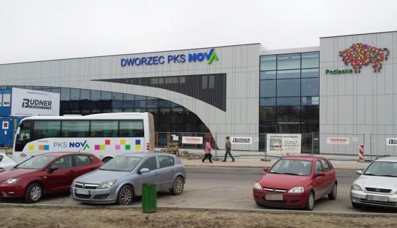 Dworzec PKS w Białymstoku, fot. Marcin Mazewski