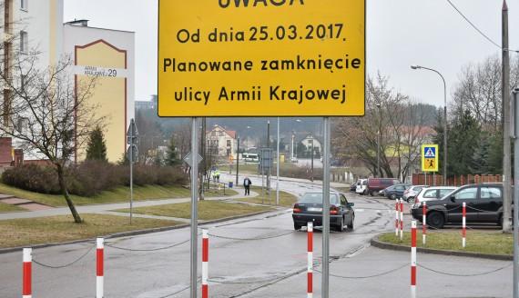 Zmiany w organizacji ruchu w związku z rozpoczęciem budowy zachodniej obwodnicy, fot. Marcin Jakowiak/UM Białystok