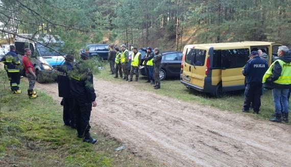 Poszukiwania Tadeusza Zajkowskiego, źródło: http://www.podlaska.policja.gov.pl