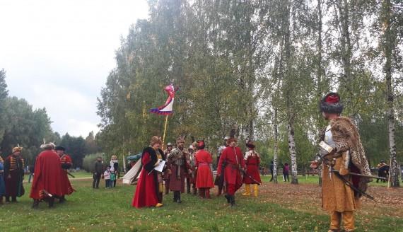 Husarze i Kozacy toczyli bitwę w Wasilkowie, fot. Ryszard Minko