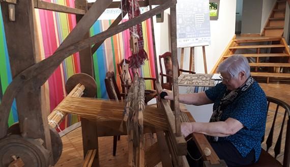 WOAK w Białymstoku rozpoczyna nowy projekt, który ma chronić tradycyjne tkactwo, fot. Edyta Wołosik