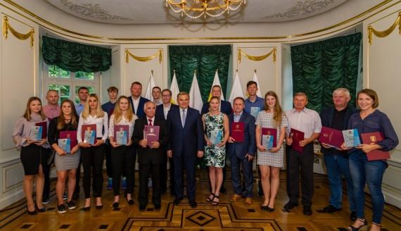 Nagrody dla najlepszych sportowców, źródło: bialystok.pl