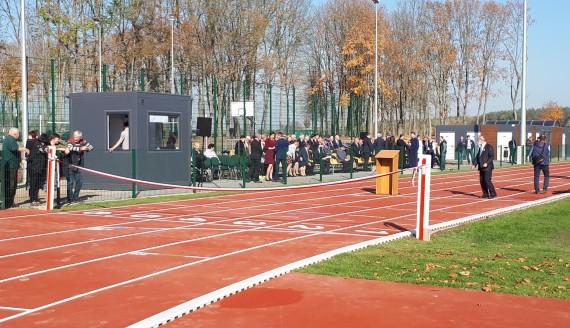 Otwarcie stadionu lekkoatletycznego w Czartajewie, fot. Renata Reda