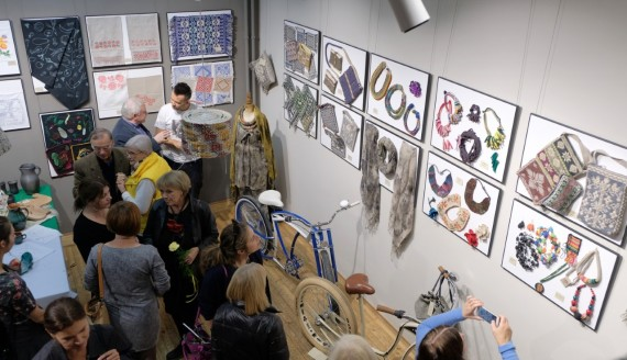 """W Białymstoku możemy oglądać wystawę """"ETNOdesign po podlasku"""", źródło: www.woak.bialystok.pl"""