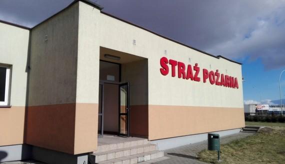 PSP w Suwałkach, fot. Iza Kosakowska