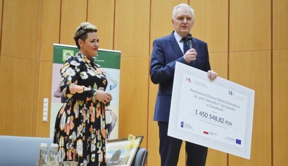 Jarosław Gowin w Suwałkach, fot. Tomasz Kubaszewski