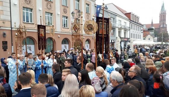 Białostockie uroczystości związane z 25. rocznicą przeniesienia relikwii św. Gabriela, fot. Marta Nazarko