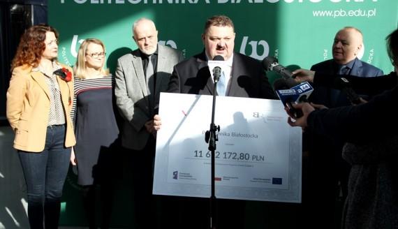 Ponad 11,6 mln zł na rozwój Politechniki Białostockiej, źródło: http://pb.edu.pl/, fot. Katarzyna Cichoń