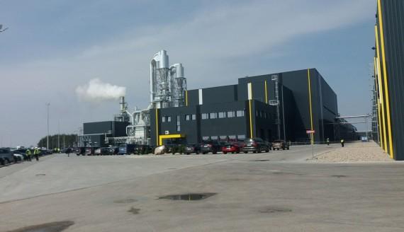 W Suwałkach otwarto nowoczesną fabrykę płyt wiórowych, fot. Marcin Kapuściński