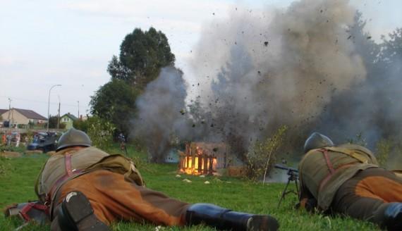 9 września 2018 - Inscenizacja bitwy o Zambrów, fot. Adam Dąbrowski