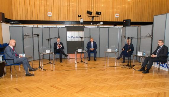 Debata kandydatów na prezydenta Białegostoku, fot. Monika Kalicka