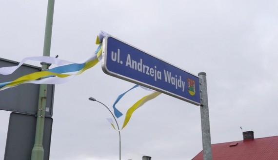 Ulica Andrzeja Wajdy w Suwałkach, fot. Iza Kosakowska
