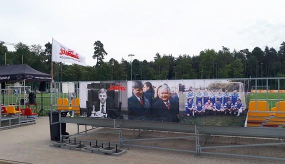 Turniej piłki nożnej i festyn rodzinny na stadionie miejskim, fot. Wojciech Szubzda