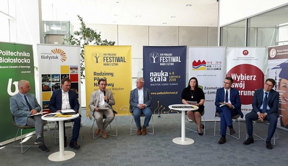Ok. 600 wydarzeń podczas 16. edycji Podlaskiego Festiwalu Nauki i Sztuki, fot. Iza Serafin