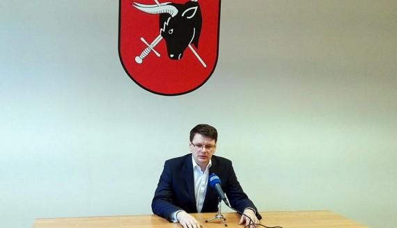 Burmistrz Sejn Arkadiusz Nowalski, fot. Iza Kosakowska
