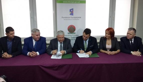 Ponad 42,9 mln zł z NFOŚiGW na projekty w Łomży i Bielsku Podlaskim, fot. Marcin Mazewski