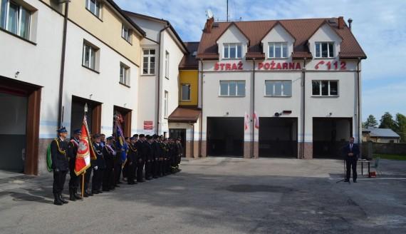 Po 10 latach starań sejneńscy strażacy mają zmodernizowaną remizę, fot. Marcin Kapuściński