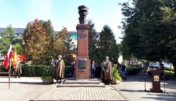 Mieszkańcy Sokółki i samorządowcy upamiętnili 97 rocznicę bitwy nad Niemnem, fot. Grzegorz Pilat