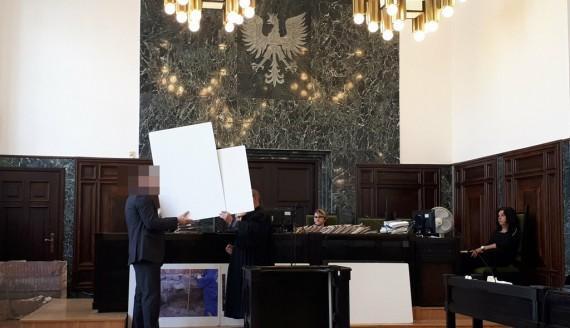 Katastrofa budowlana przy budowie galerii Alfa - sprawa apelacyjna, fot. Marta Nazarko