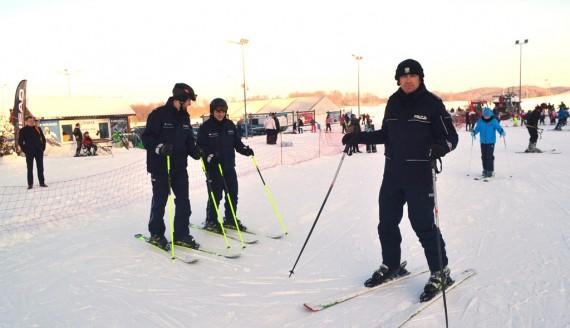 Patrole policyjne na stokach narciarskich w Szelmencie, fot. Marcin Kapuściński