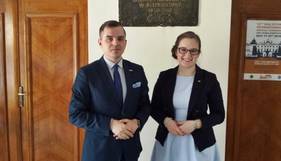 Piotr Mazur i Maria Cholewińska, fot. Marcin Mazewski