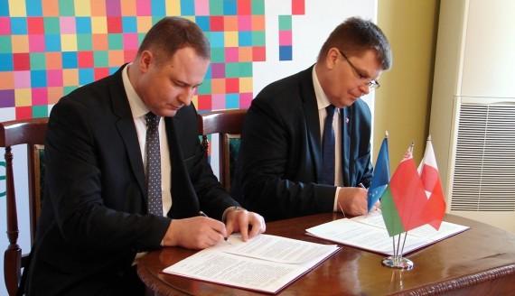 Podlaskie i obwód brzeski przygotowują porozumienie o współpracy, fot. Adam Dąbrowski