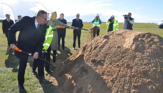 W Suwałkach rozpoczęto budowę lokalnego lotniska, fot. Iza Kosakowska