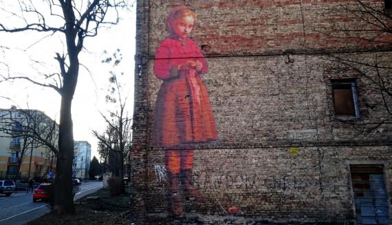Mural przy ul. Św. Mikołaja, fot. Joanna Sikora