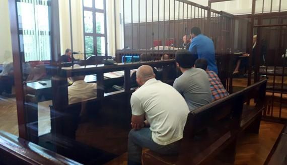 Białystok, 25.07.2017 - Proces 4 Czeczenów oskarżonych o wspieranie ISIS, fot. Ryszard Minko