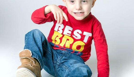 5-letni Filip, fot. Paweł Wądołowski