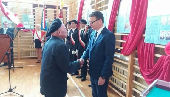 13 żołnierzy AK odznaczono krzyżami komandorskimi, oficerskimi i kawalerskimi, fot. Marta Sołtys