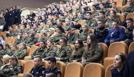II Forum Klas Mundurowych w Łomży, fot. Paweł Wądołowski