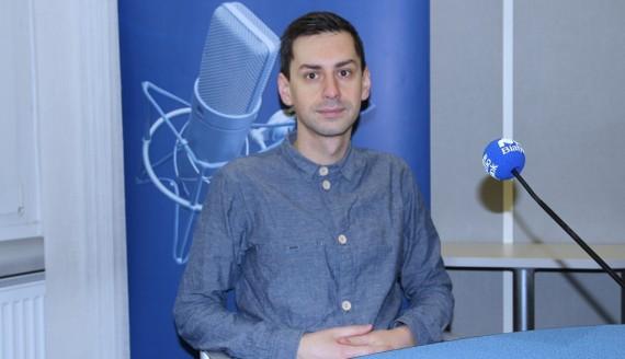 Dr Maciej Białous, fot. Marcin Gliński