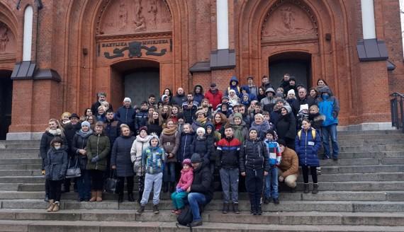 Dzieci z Litwy spędzą święta z podlaskimi rodzinami, fot. Wojciech Szubzda