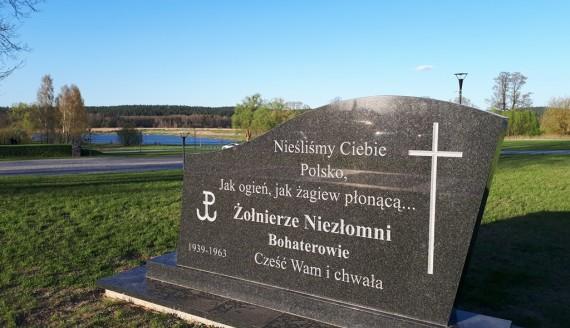 Pomnik poświęcony żołnierzom niezłomnym w Supraślu, fot. Ewelina Buczyńska