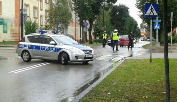 Wypadek w Bielsku Podlaskim, źródło: KPP Bielsk Podlaski