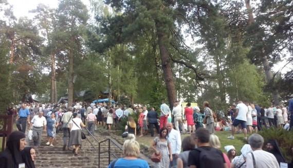 Obchody Przemienienia Pańskiego na św. Górze Grabarce, fot. Anna Choruży