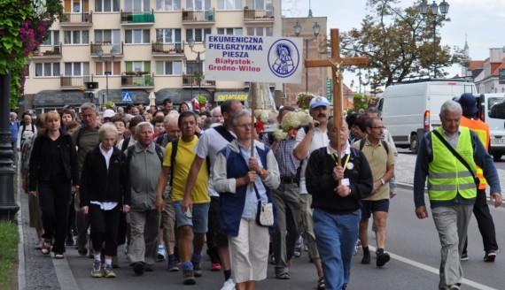 XXI Ekumeniczna Pielgrzymka do Wilna, Białystok 16.08.2013, fot. D.Dębska