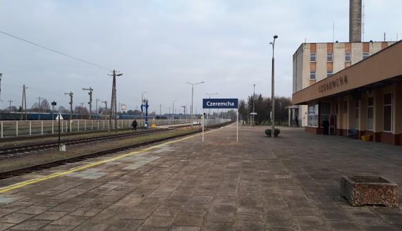 Stacja kolejowa w Czeremsze, fot. Wojciech Szubzda