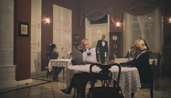 """Kadr z filmu """"Czarna dama"""", fot. Dawid Wappa, źródło: UM Białystok"""