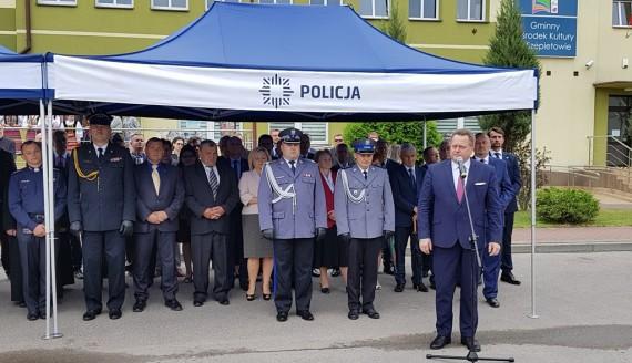 W Szepietowie znów jest posterunek policji, fot. Paweł Wądołowski