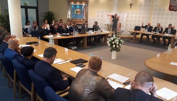 Sesja Rady Miejskiej w Suwałkach, fot. Iza Kosakowska