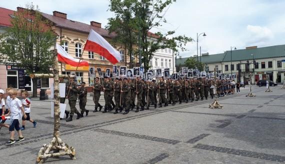 Okolicznościowe wydarzenia z okazji uroczystego odsłonięcia pomnika upamiętniającego ofiary Obławy Augustowskiej, fot. Areta Topornicka