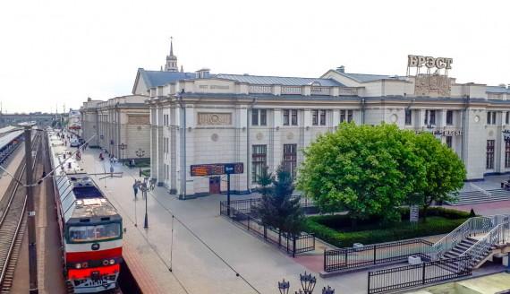 Dworzec kolejowy w Brześciu, fot. Anna Petrovska