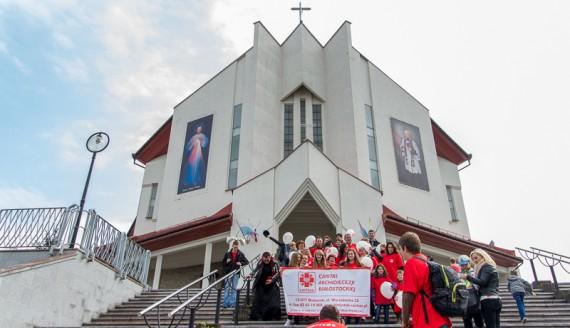 Sanktuarium Miłosierdzia Bożego w Białymstoku, 27.04.2014, fot. Joanna Żemojda