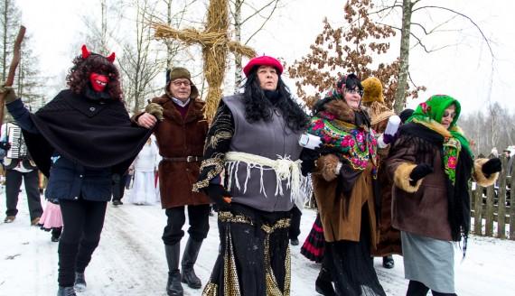 """""""Zapusty w Skansenie"""", fot. Monika Kalicka"""