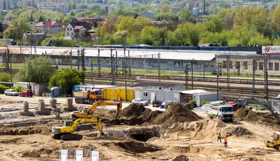 Budowa nowego dworca PKS w Białymstoku, fot. Monika Kalicka