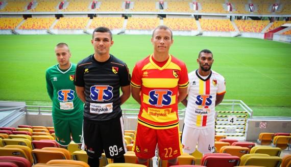 Stroje Jagiellonii Białystok na sezon 2018/2019 - Fot. Sylwia Krassowska