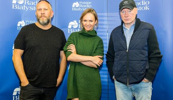 Varius Manx i Kasia Stankiewicz w Radiu Białystok, fot. Monika Kalicka