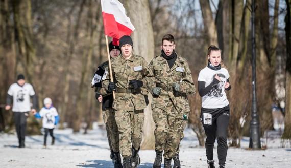 Bieg Tropem Wilczym w Białymstoku 2018, fot. Joanna Szubzda
